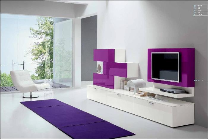 гостиная итальянская мебель в стиле модерн.
